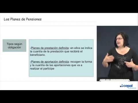 Los planes de pensiones